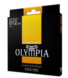 OLYMPIA AGS-580 (12-53) ACOUSTIC GUITAR STRING 올림피아 기타 스트링 AGS580